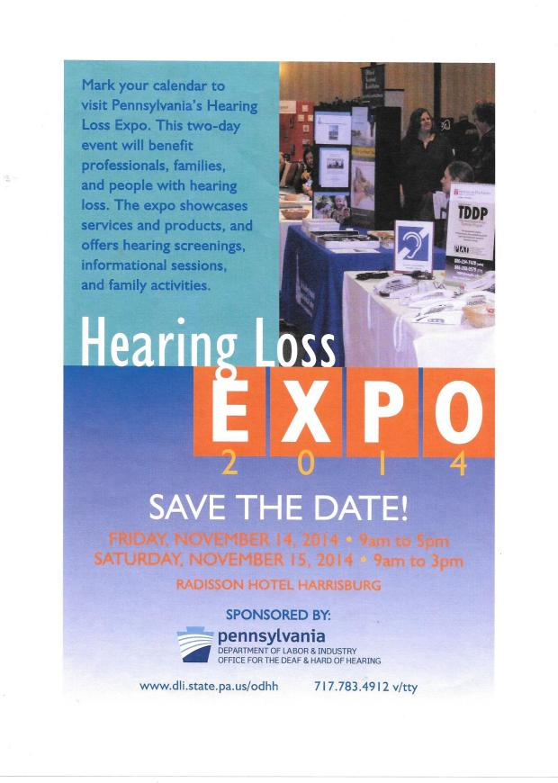 hearing loss expo