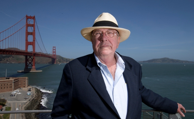 Gary Scheppke poses for a photograph at the Golden Gate Bridge, Monday, April 13, 2015, in San Francisco, Calif. Scheppke, who had recently taken a Mental Health First Aid class, was able to dissuade a woman from committing suicide on the bridge. (D. Ross Cameron/Bay Area News Group)