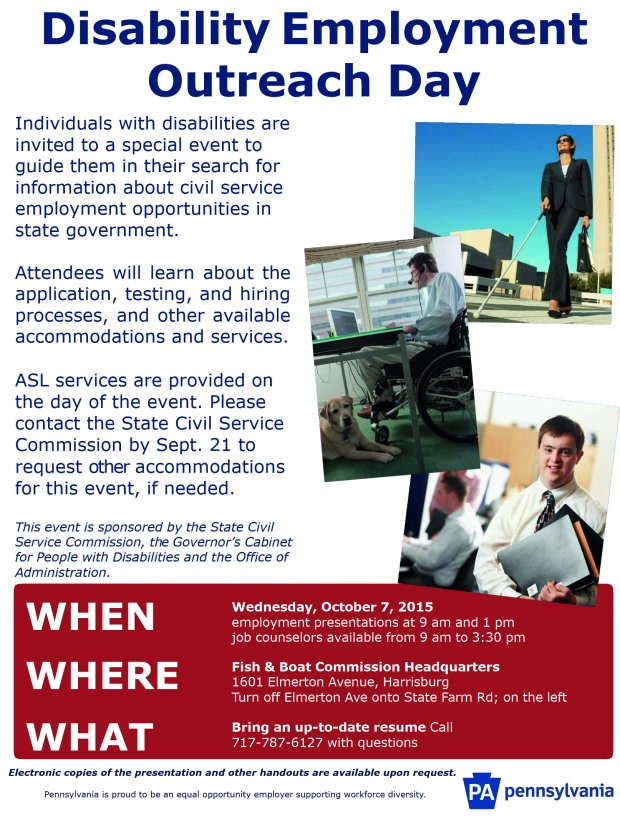 disability employment outreach