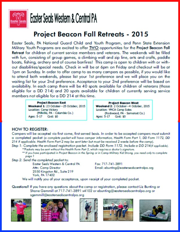 project beacon fall retreats
