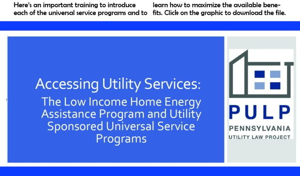 accessing utility services