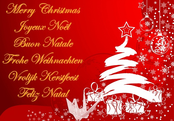 all language christmas message