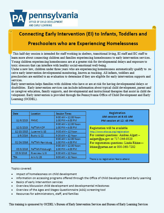 connecting early intervention