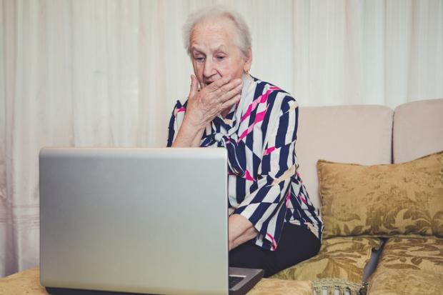olders use facebook
