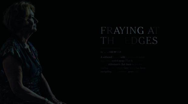 fraying