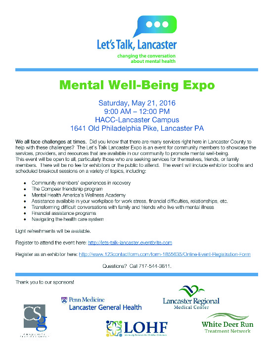 Mental Well Being Expo