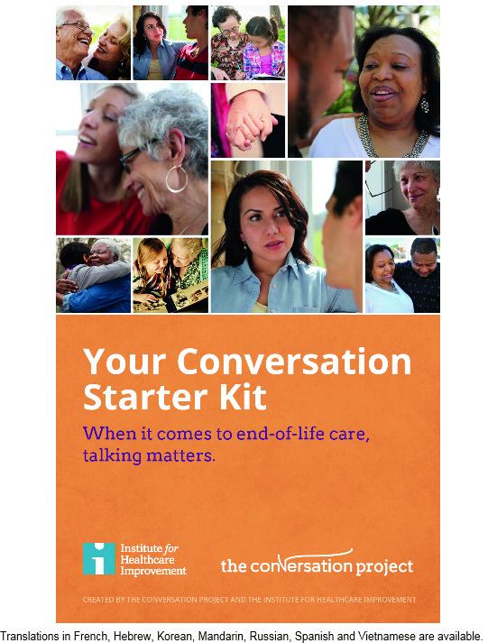 start the conversation starter