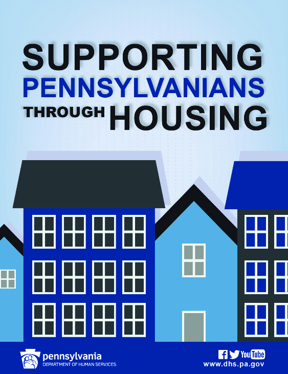 supporting through housing