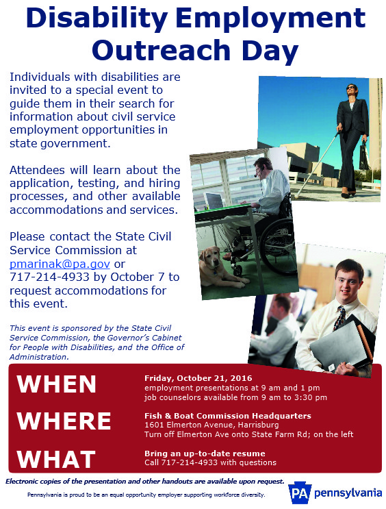 disability employment outreach day