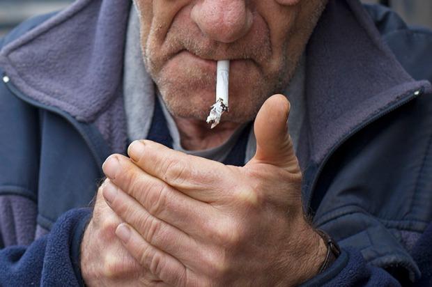 italian old smoker
