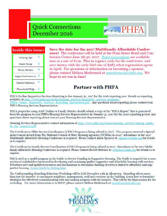 phfa-newsletter