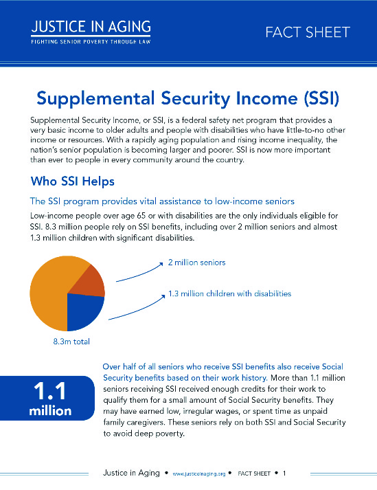 an argument in favor of supplemental security income for vulnerable citizens Supplemental security income debate the competing arguments that poverty is d citizens in the top fifth get 50 percent of all income e citizens in the.