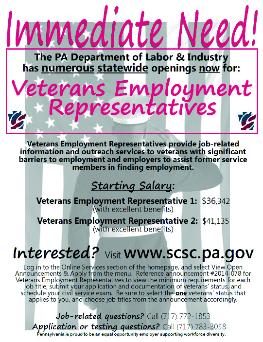 Statewide Employment Opportunities for Veterans Employment ...