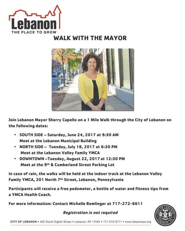 walk with mayor