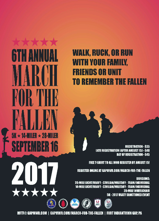 march for the fallen
