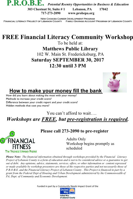 30 - financial literacy