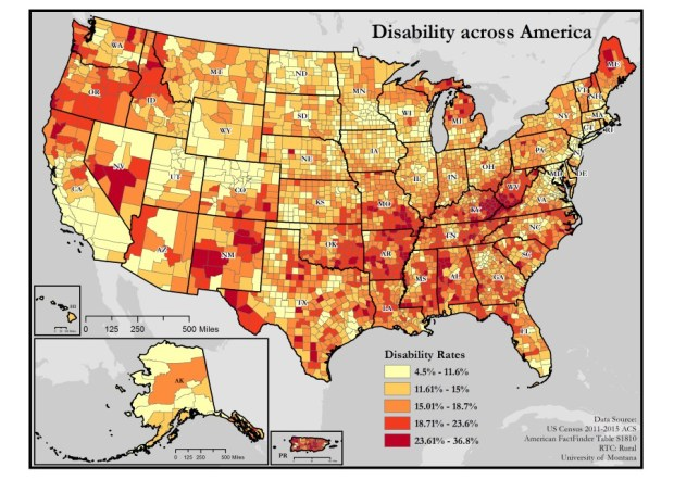 disability maps