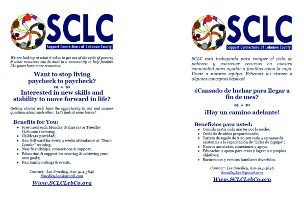 paycheck to paycheck SCLC
