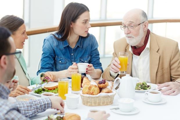 Talk by breakfast
