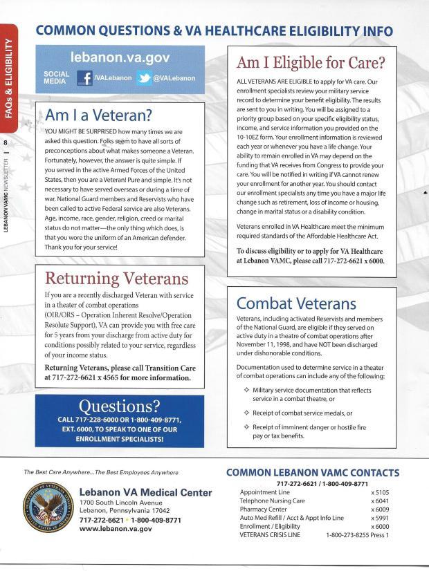 VA eligibility
