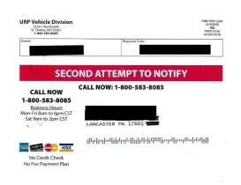 urp vehicle scam 1