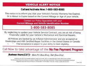 urp vehicle scam 2