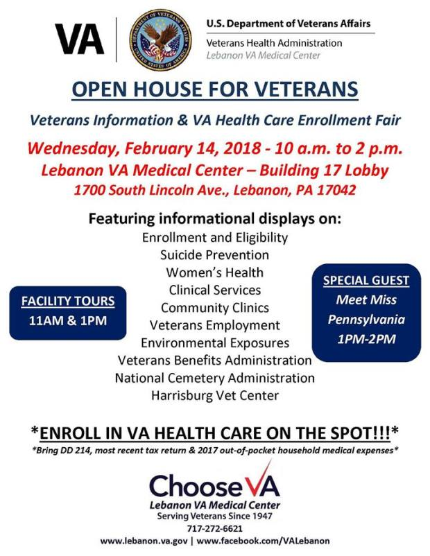 va open house
