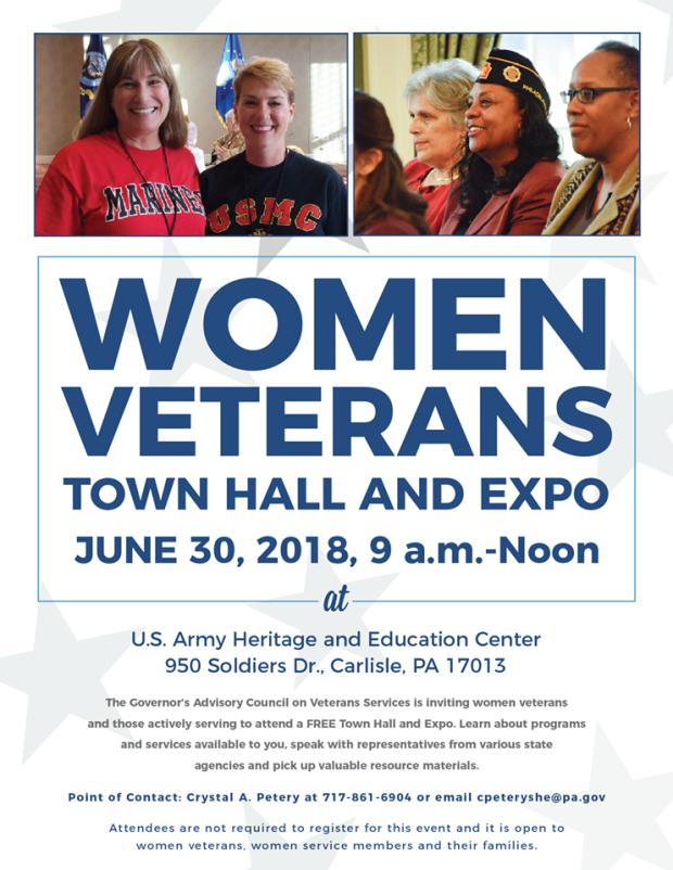 women veterans town hall