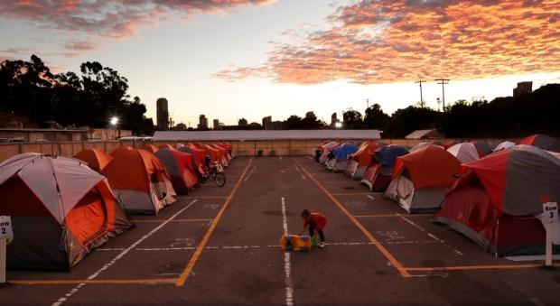 APTOPIX Homeless In San Diego