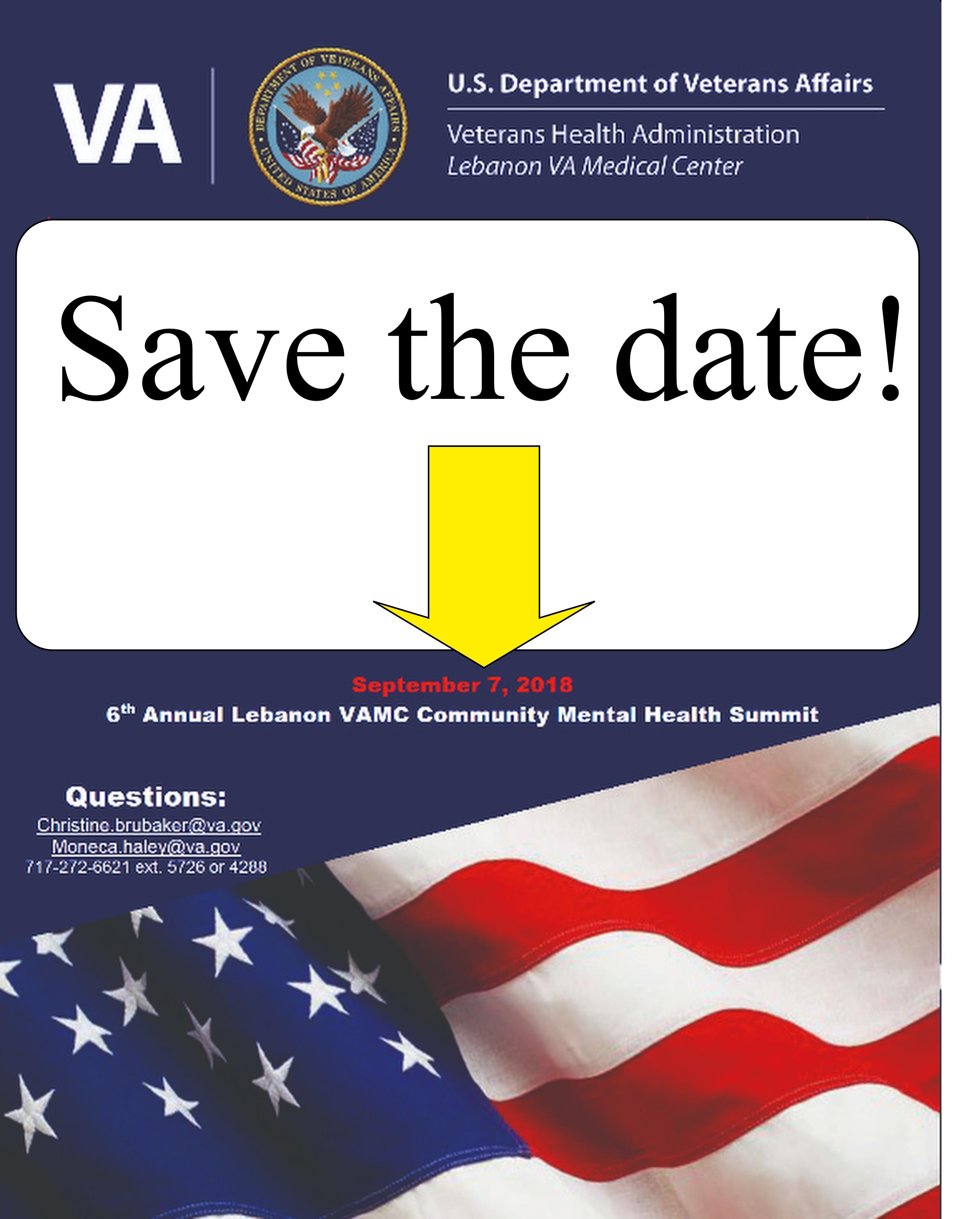 September 7 2018 Save The Date 6th Annual Lebanon Veterans