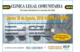 8-30 legal clinic sp
