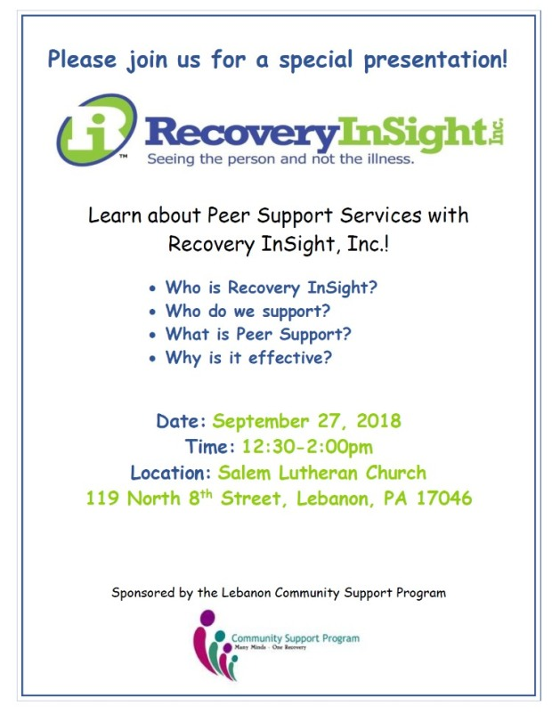 recovery insight september