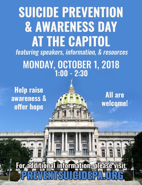 suicide day at the capitol