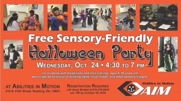 aim sensory friendly halloween