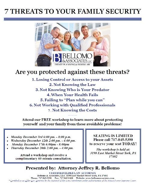 bellomo 7 threats dec