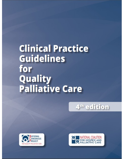 palliative care guidelined