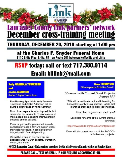 Lanc Link 12-18 meeting notice