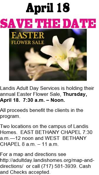 Landis Easter Flowers