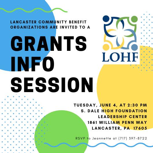 grants info session