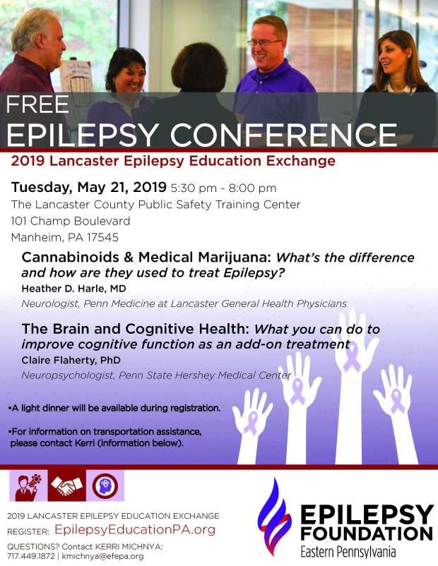 Lancaster Epilepsy Exchange_Flyer_2019_updated