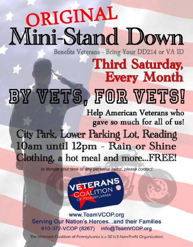 stand down every third saturday