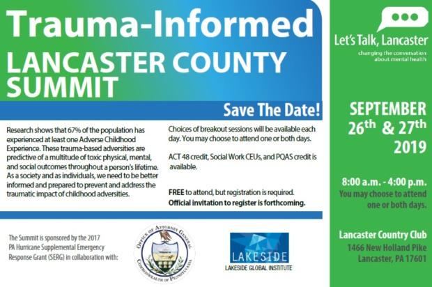 Trauma informed event