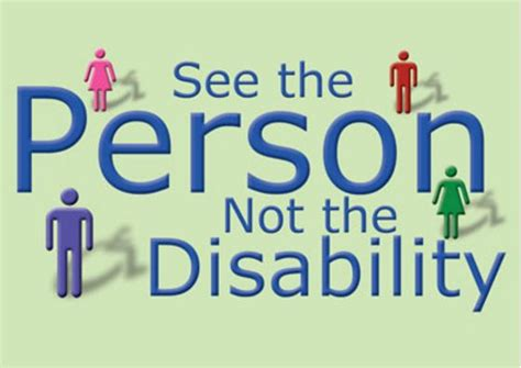 see the person
