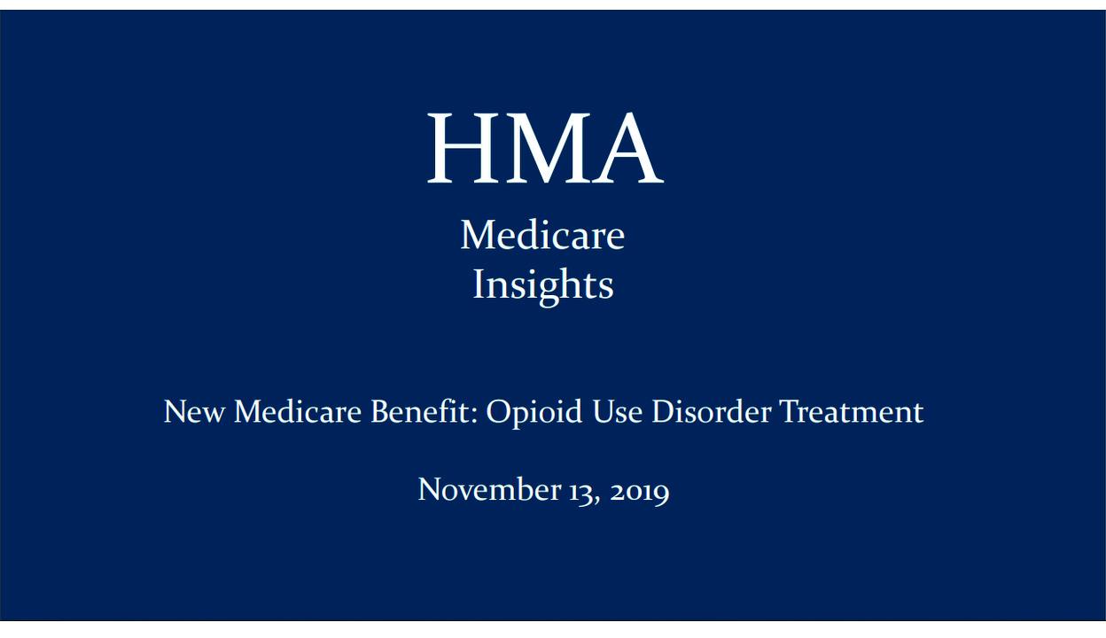 opioid medicare benefit