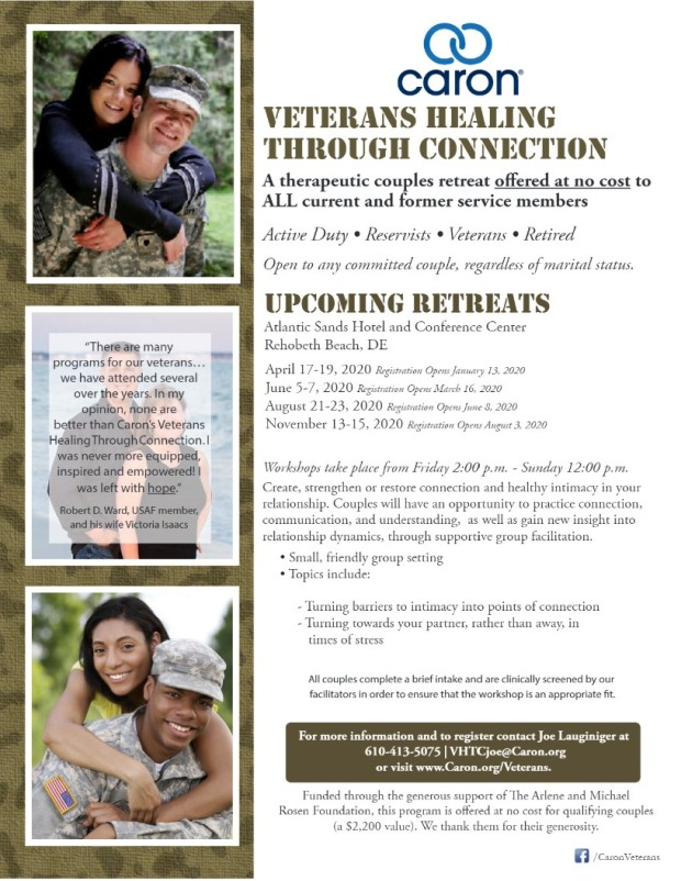 caron veterans program