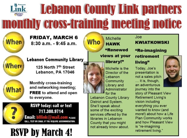 03-2020 Leb Link cross-training announcement