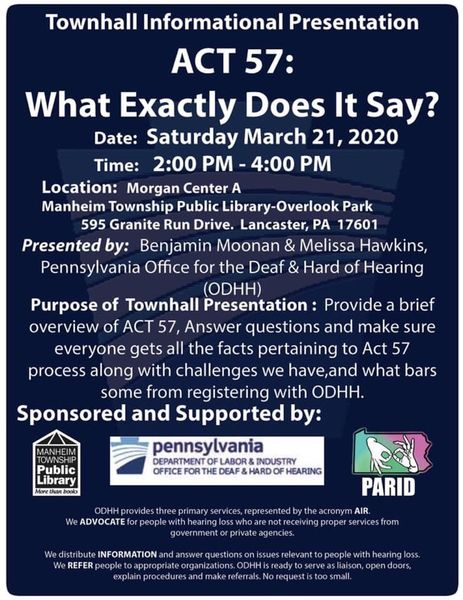town hall info session