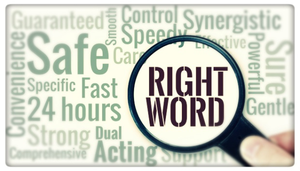 finding he right word