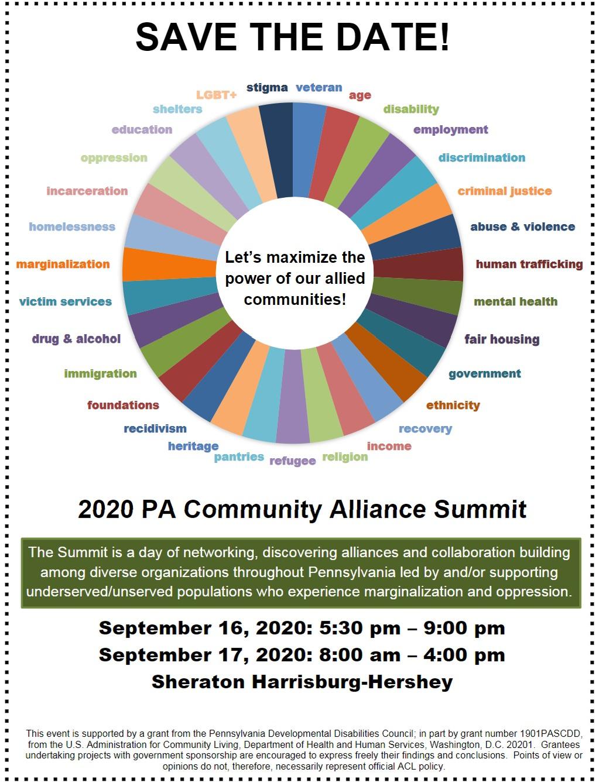 PADDC community alliance summit