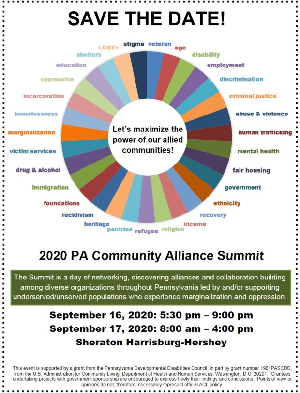 PADDC community alliance summit